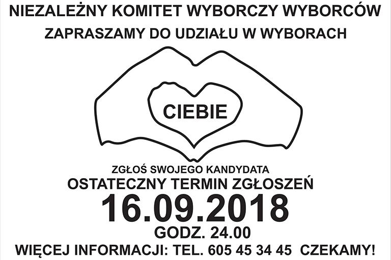 2018-09-12 - Zaproszenie na wybory
