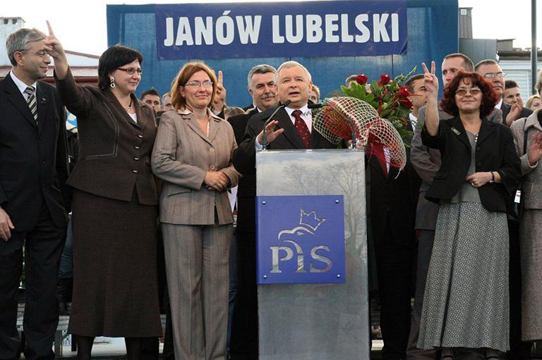2018-09-26 - Kaczynski poprze Jarmuziewicza