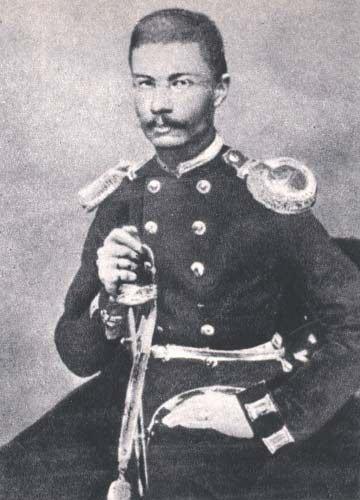 Traugutt w rosyjskim mundurze